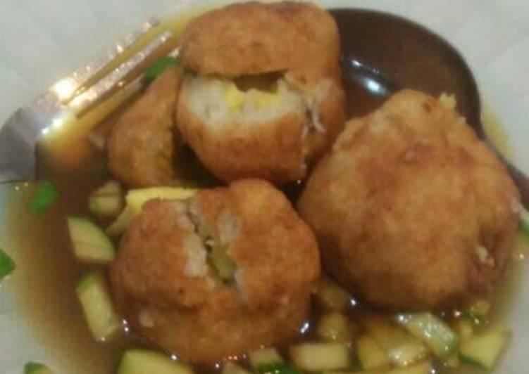 Resep: Empek-empek telur mozzarella