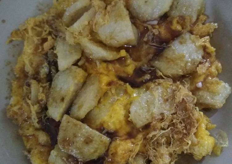 Resep memasak Lenggang (Pempek Telur Dadar) yang menggugah selera