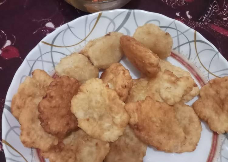 Resep: Pempek udang dengan petis Madura lezat
