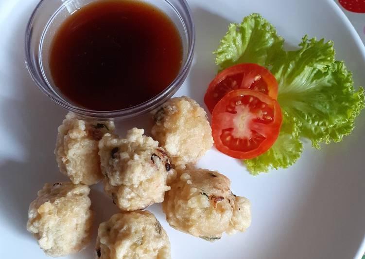 Resep: Empek-empek udang rumahan lezat