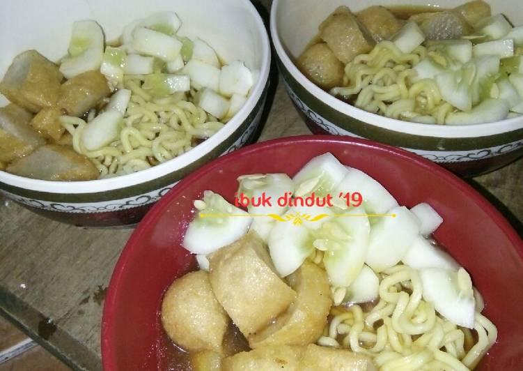 Cara Mudah memasak Pempek udang (pempek lenjer) yang menggugah selera