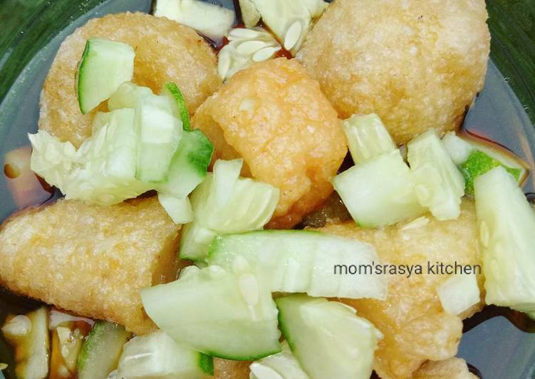 Resep: Pempek udang simple