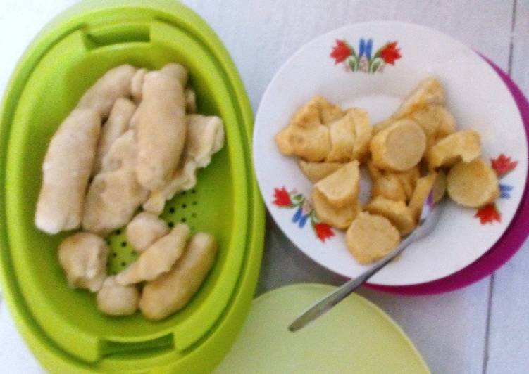 Resep memasak Mpek mpek udang ala ala ika enak