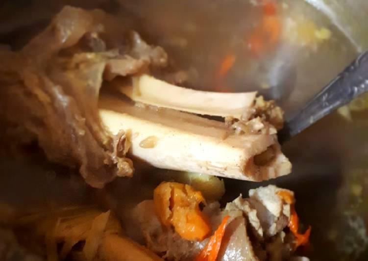 Pindang Tulang Cemplung no Tumis