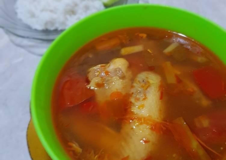 Pindang Ayam Pedas Asem (kayak mulut netizen)
