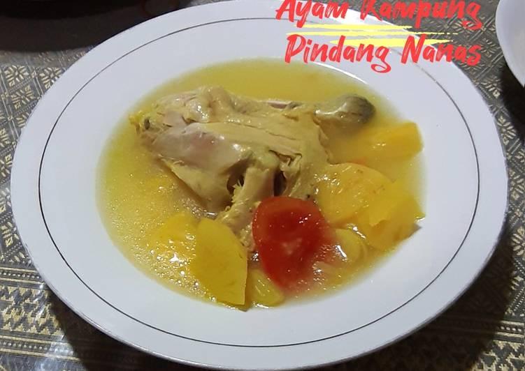 Ayam Kampung Pindang Nanas