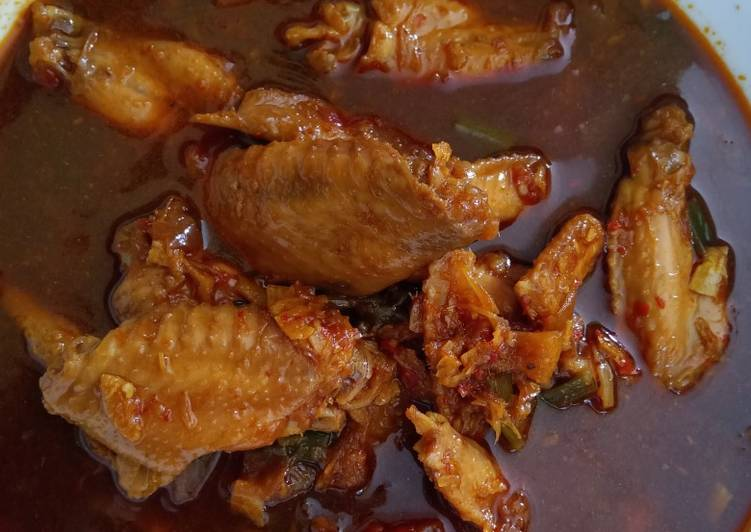 Resep: Pindang sayap ayam gurih ala resto
