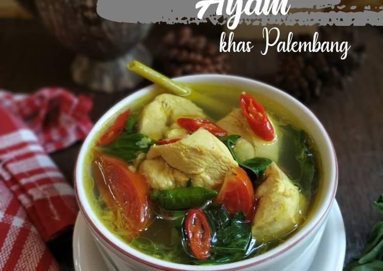 Cara memasak Pindang ayam kemangi (khas Palembang) istimewa
