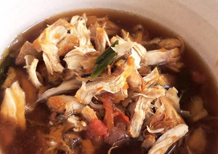 Resep membuat Pindang ayam khas palembang 💛 yang bikin ketagihan