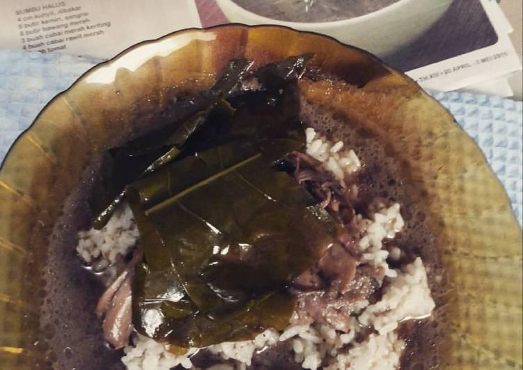 Resep: Nasi pindang ayam kudus istimewa