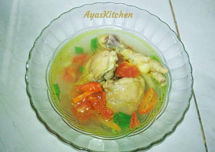Resep: Pindang ayam (ayam hancang)