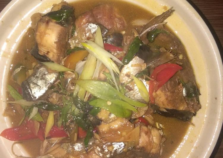 Resep Pindang Ikan Patin Kekinian with Vanilla Marinade