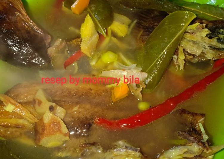 Resep: Pindang ikan baung salai ala resto