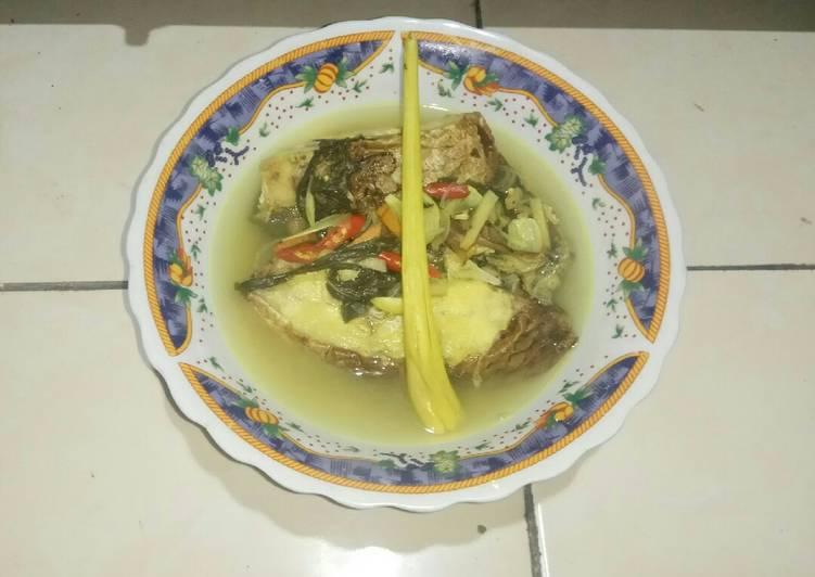 Resep: Pindang ikan salai (kakap putih) istimewa