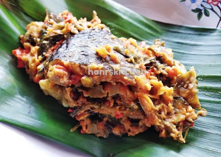 Resep: Pepes ikan patin tempoyak (khas Palembang) lezat