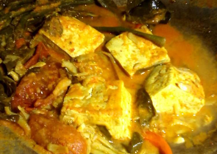 Resep memasak arsik teri tahu sayur istimewa