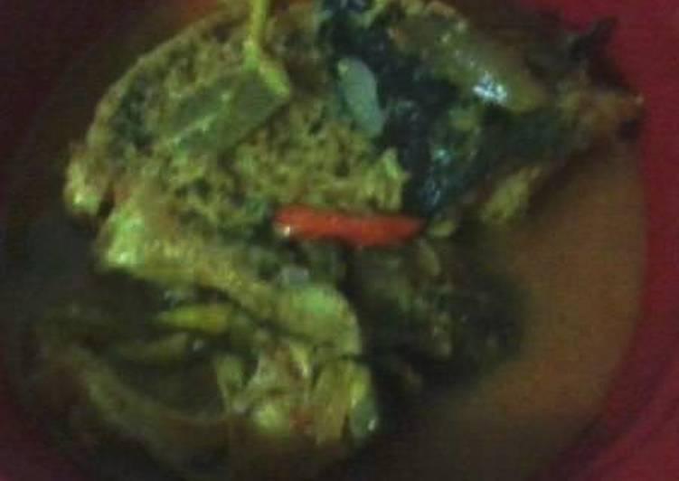 Cara Mudah memasak arsik ikan mas ala anak kos enak