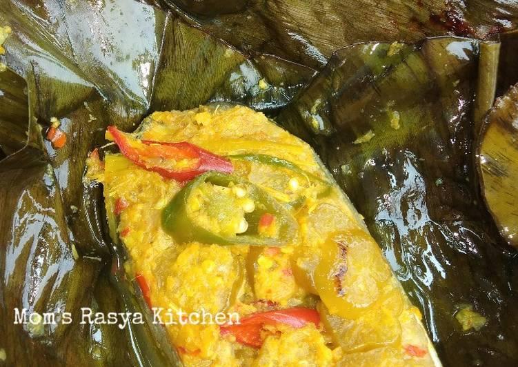 Resep: Paisan / pepes ikan patin