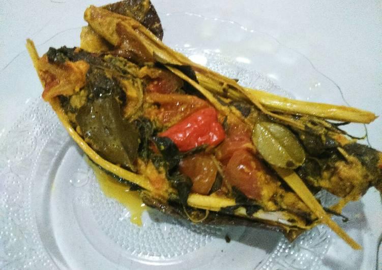 Resep: Pepes Ikan Nila (alumunium foil) ala resto