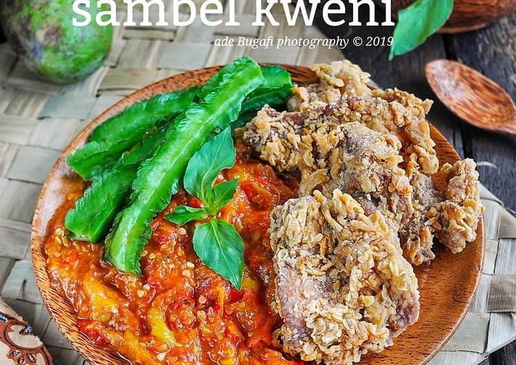 Resep: Kulit Ayam krispi sambel kweni