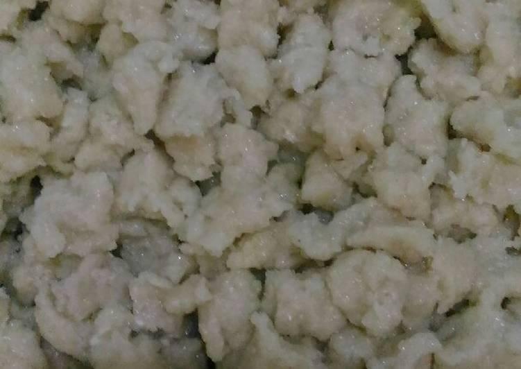 Cara memasak Biji Tekwan Khas Palembang yang menggugah selera