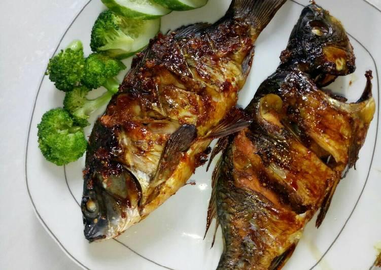 Resep mengolah Ikan Mas panggang oven yang bikin ketagihan