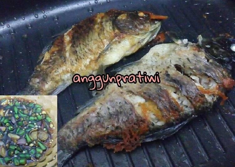Ikan Mas Panggang + Kecap Cabe