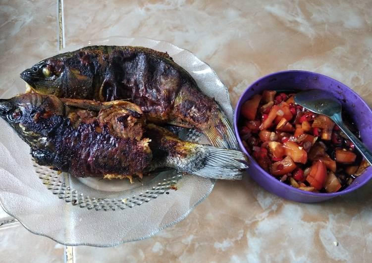 Resep: Ikan panggang kompor yang bikin ketagihan