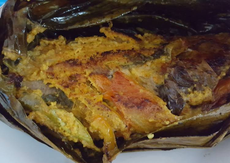 Resep: Pepes ikan mas TB enak