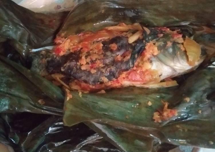 Resep: Pepes ikan mas lezat