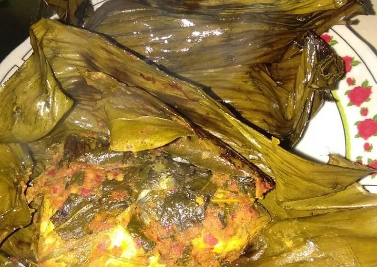 Resep: Pepes ikan mas mantap enak