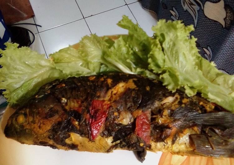 Resep: Pepes ikan mas yang menggugah selera