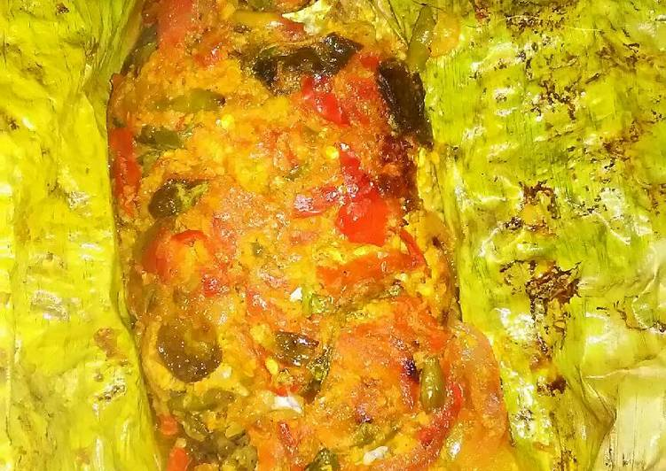Resep memasak Pepes ikan mas istimewa