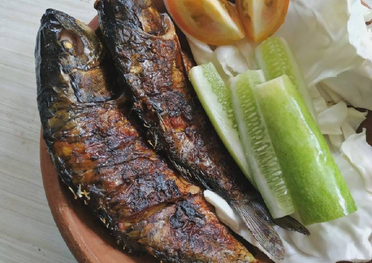 Resep mengolah Ikan bakar bumbu kecap ala resto
