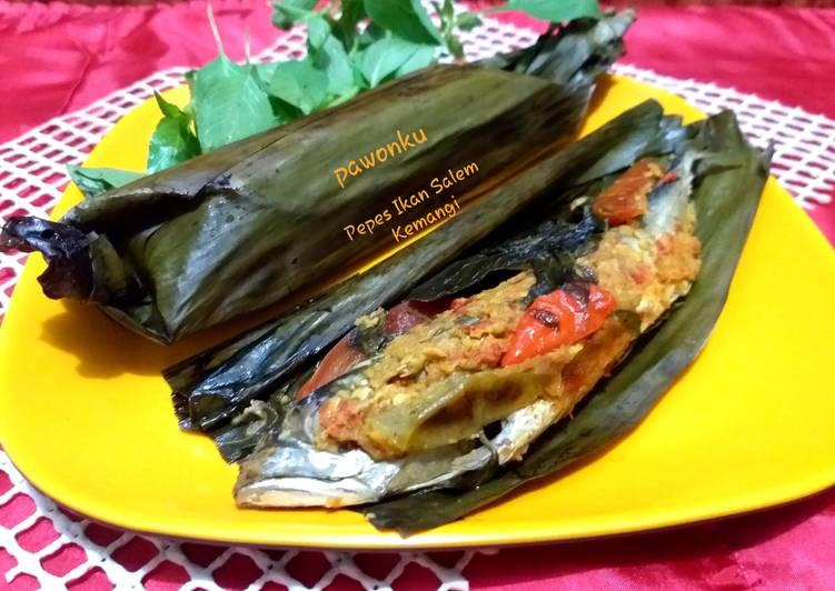 Resep: 256.Pepes Ikan Salem Kemangi yang menggugah selera