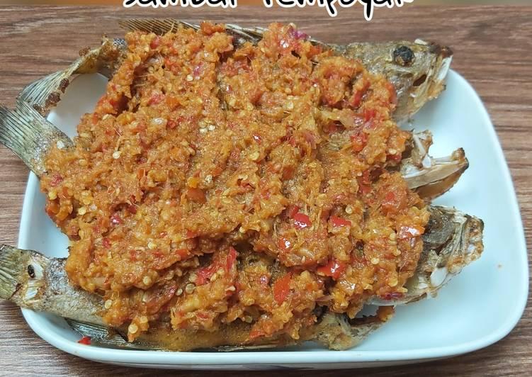 Resep: Ikan Kerapu Sambal Tempoyak pedas & nikmattt #tempoyakhomemade enak