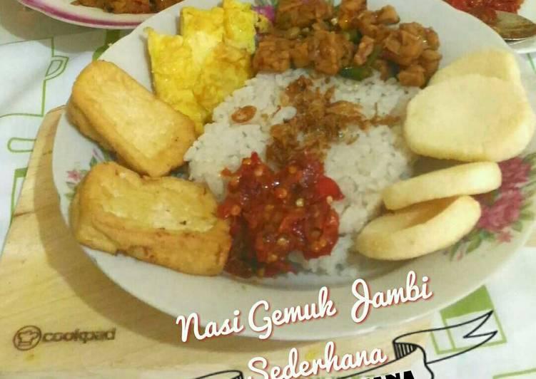 Resep: Nasi Gemuk Jambi sederhana yang menggugah selera