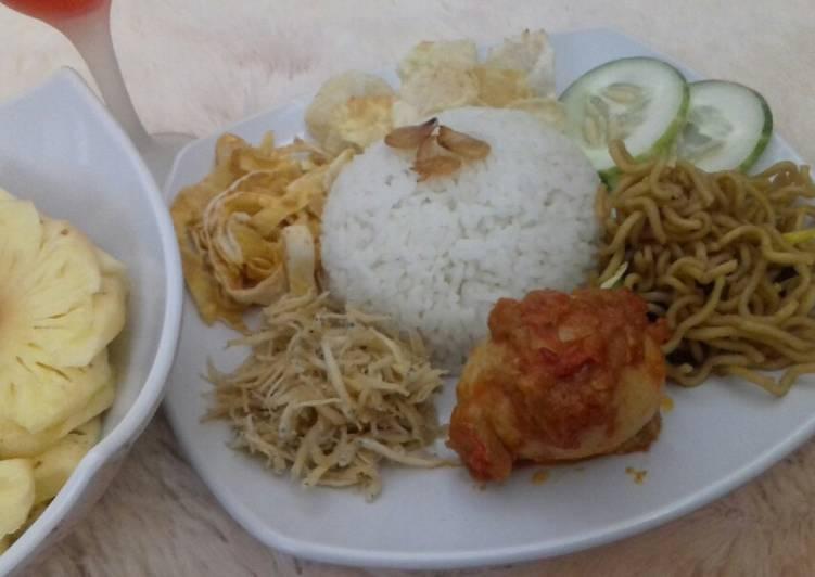 Resep: Nasi_Gemuk yang menggugah selera