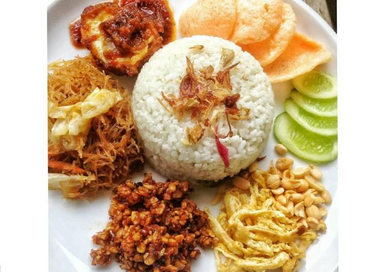 Cara membuat Nasi lemak / nasi gemuk lezat