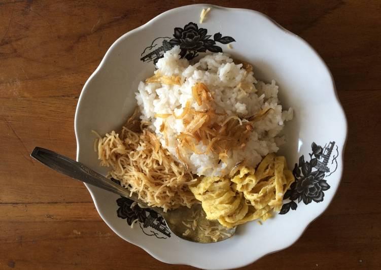 Cara Mudah memasak Nasi Uduk Palembang / Nasi Gemuk ala resto
