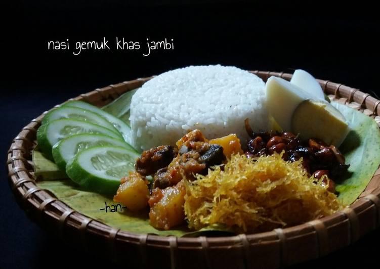Nasi Gemuk khas Jambi (pake magicom) #pr_BukanNasiBiasa