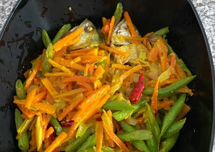 Resep: Acar kuning ikan kembung