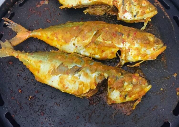 Resep memasak Ikan kembung bakar padang istimewa