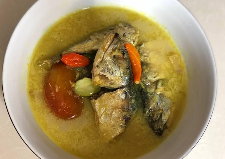 Resep: Ikan kembung kuah santan istimewa