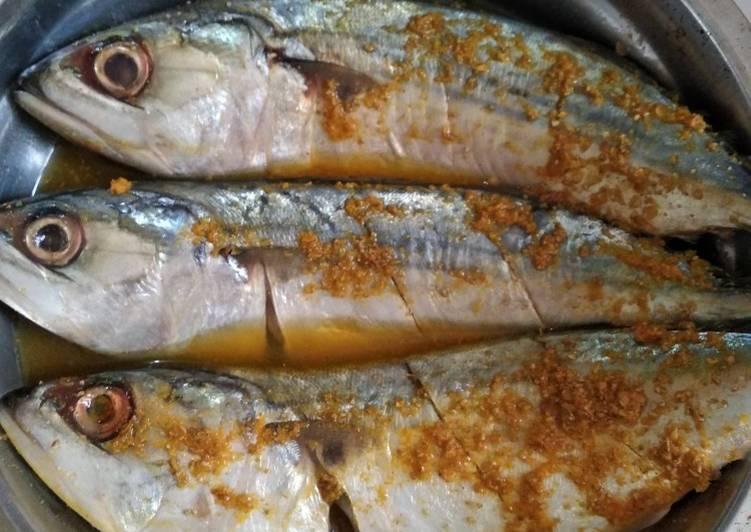 Cara mengolah Bumbu simple ikan kembung yang menggugah selera