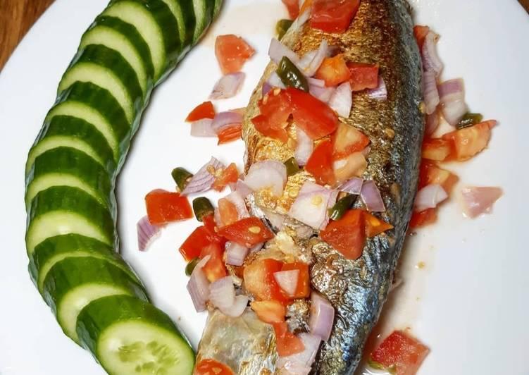 Resep: Ikan Tude panggang yang menggugah selera