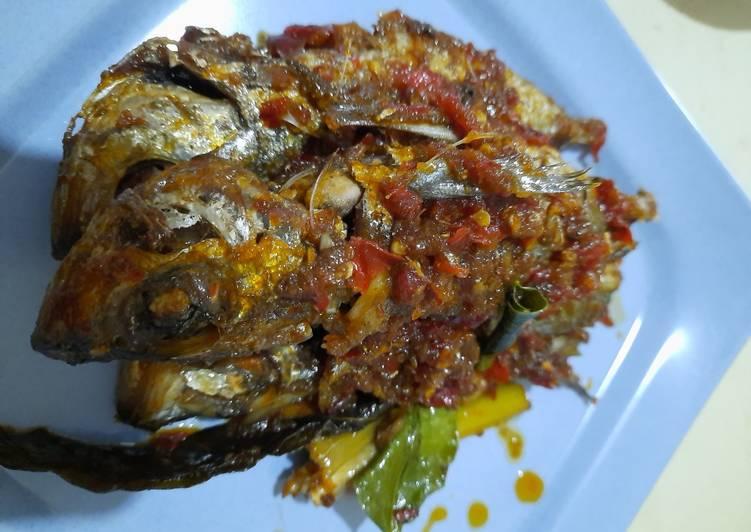 Resep: Ikan kembung balado sedap