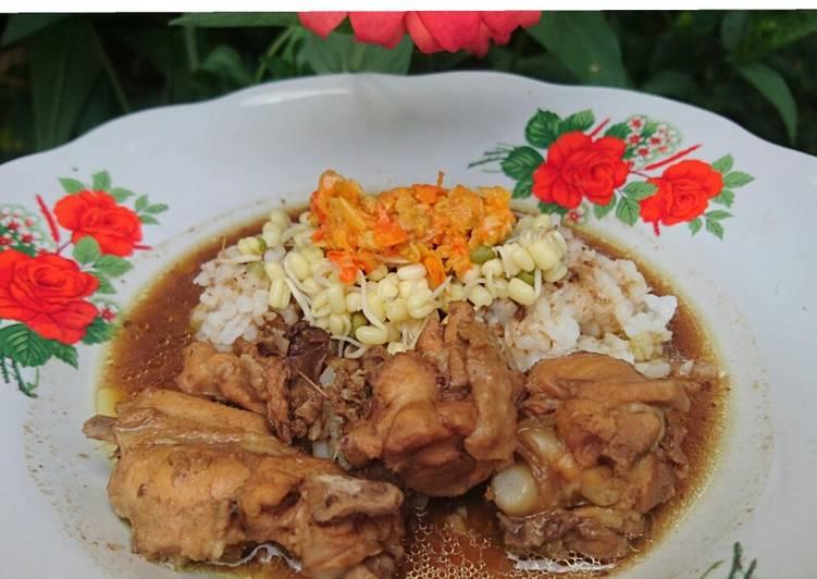 Cara Mudah membuat Rawon ayam maknyus enak