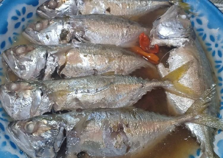 Resep: Simple steam fish (kembung gepeng/kembung cewe) lezat