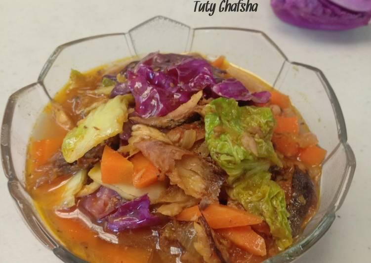 Resep memasak Kembung Veggie curry istimewa
